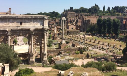 Roman Ruins 1 Banner